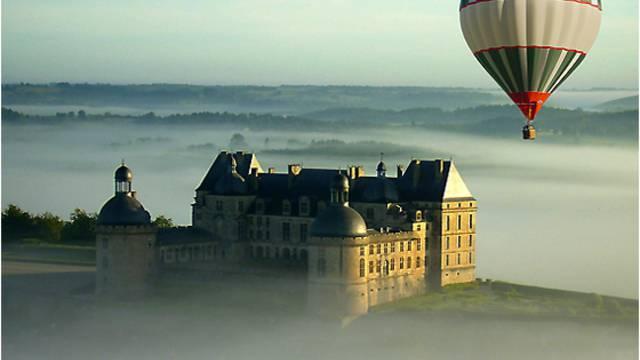 Montgolfière en Vézère Périgord Noir